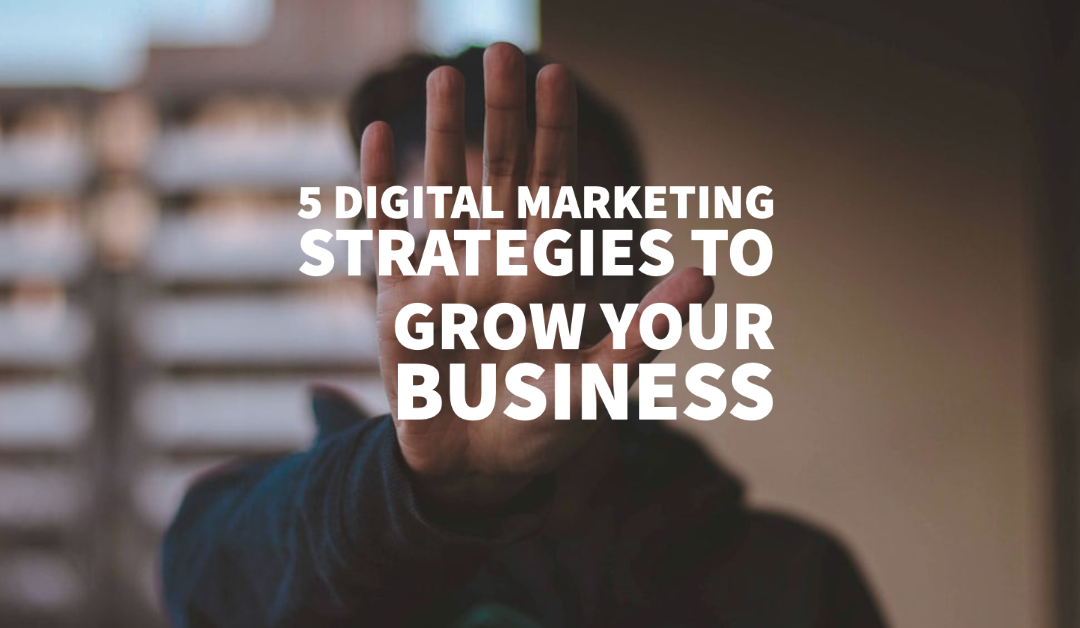 5 Digital Marketing Strategies to Grow Your Business
